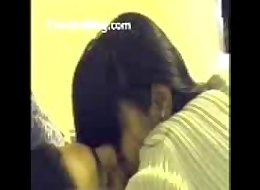 punjabi college couple lock tongues