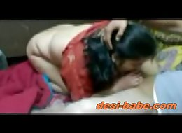Desi bengali boudi blowjob & hardcore homemade sex with davar www.desi-babe.com
